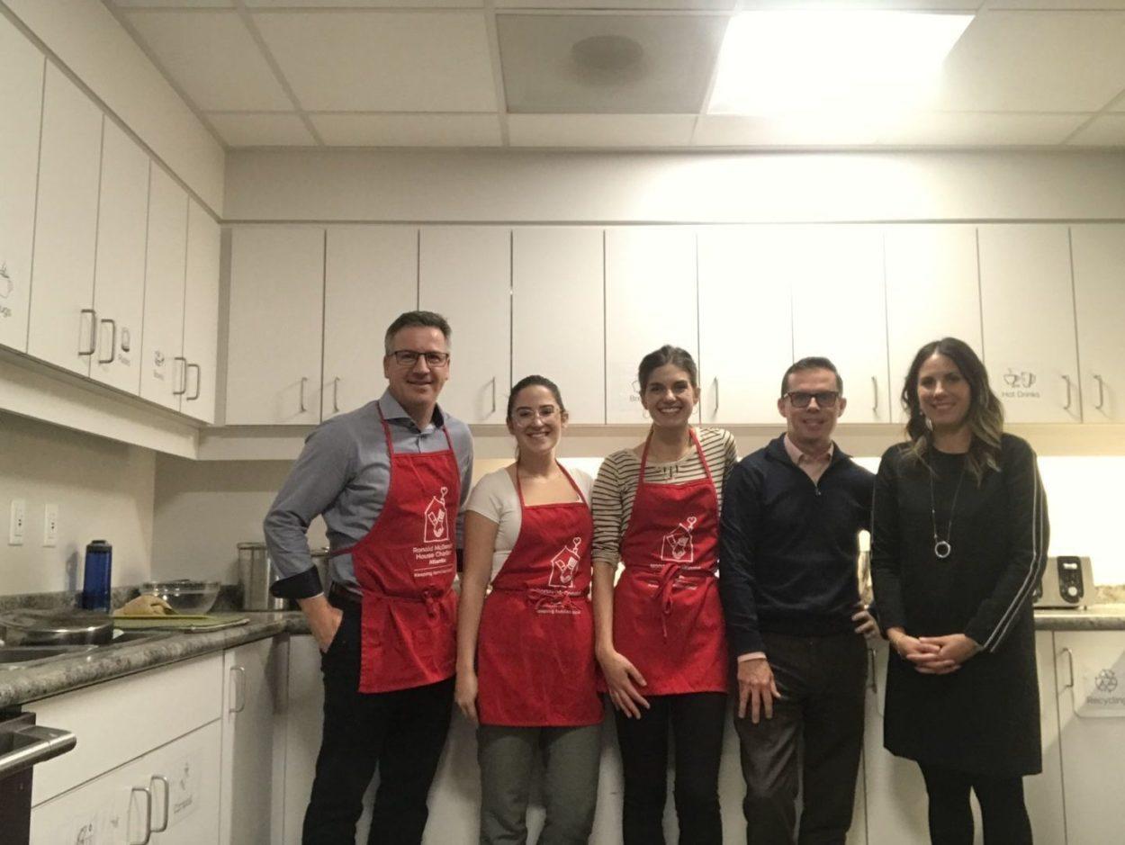 Team Volunteers Ronald Mc D House 2019